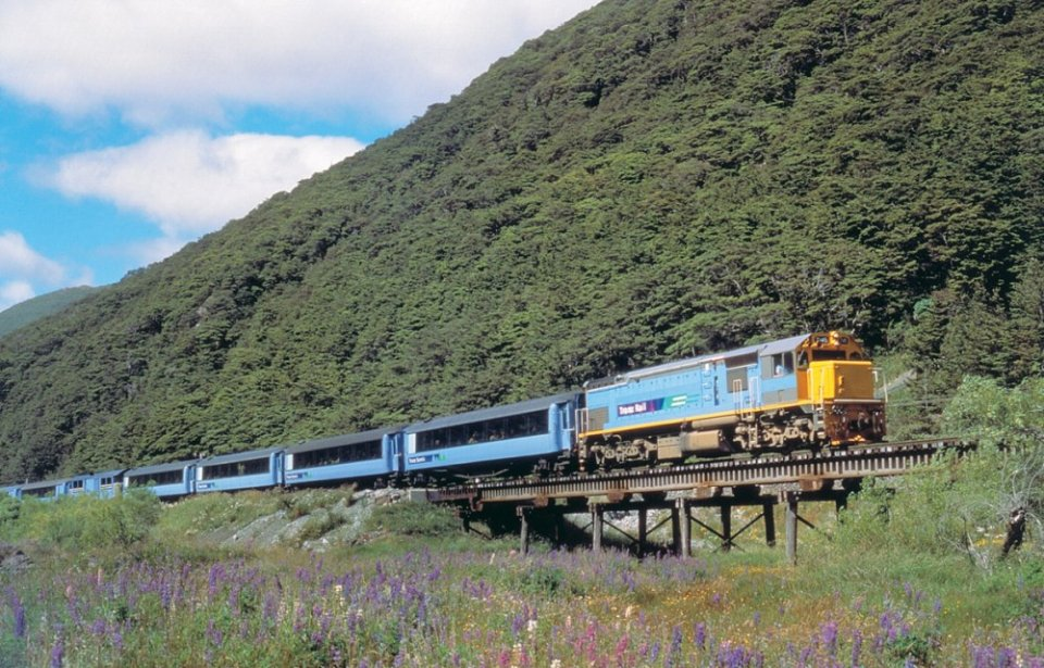 Tranzalpine train, Uusi-Seelanti