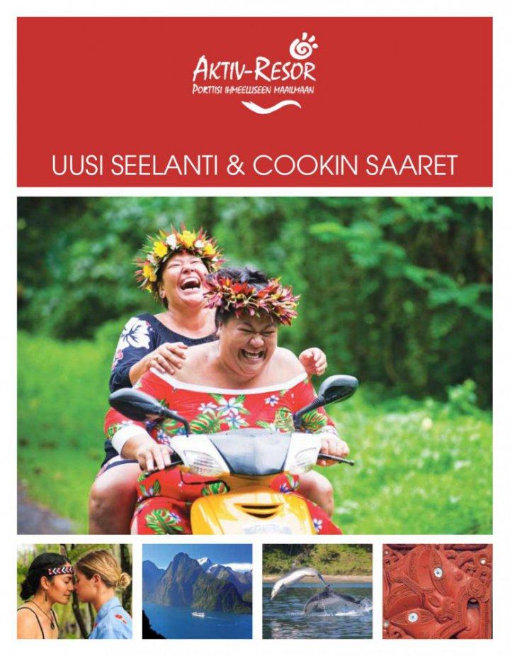 Uusi-Seelanti & Cookin saaret