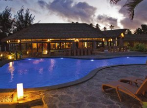 Nautilus Resort Rarotonga pool