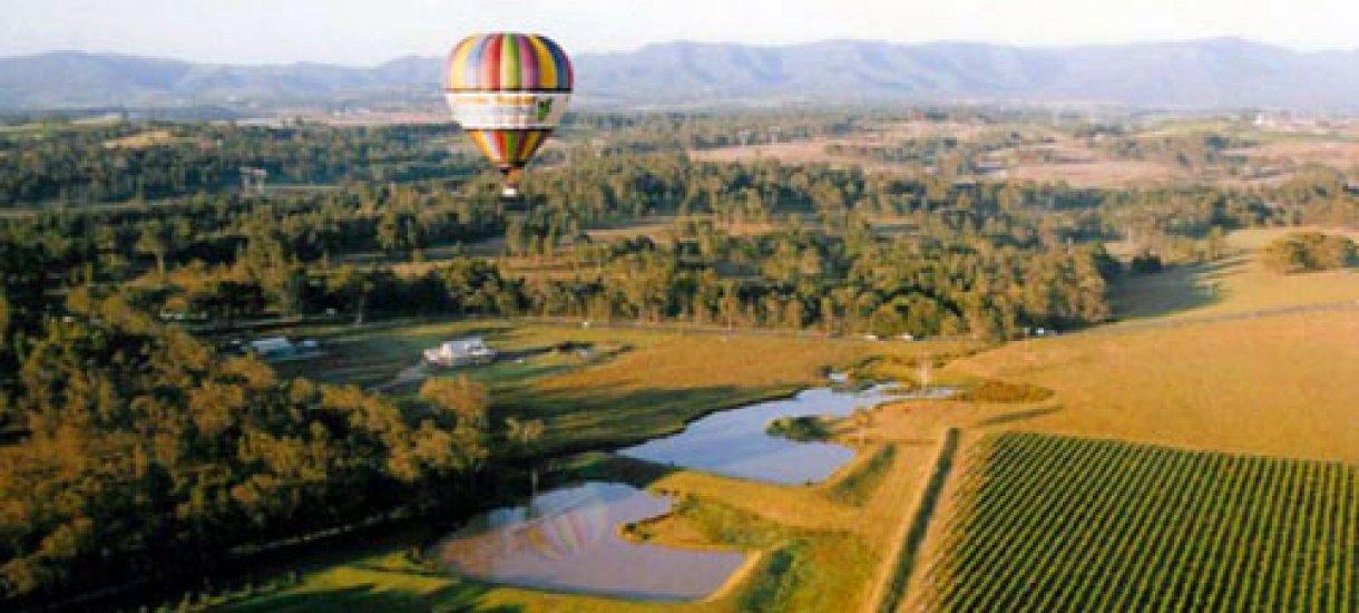 Blue Mountains retket, vineyards, Asutralia