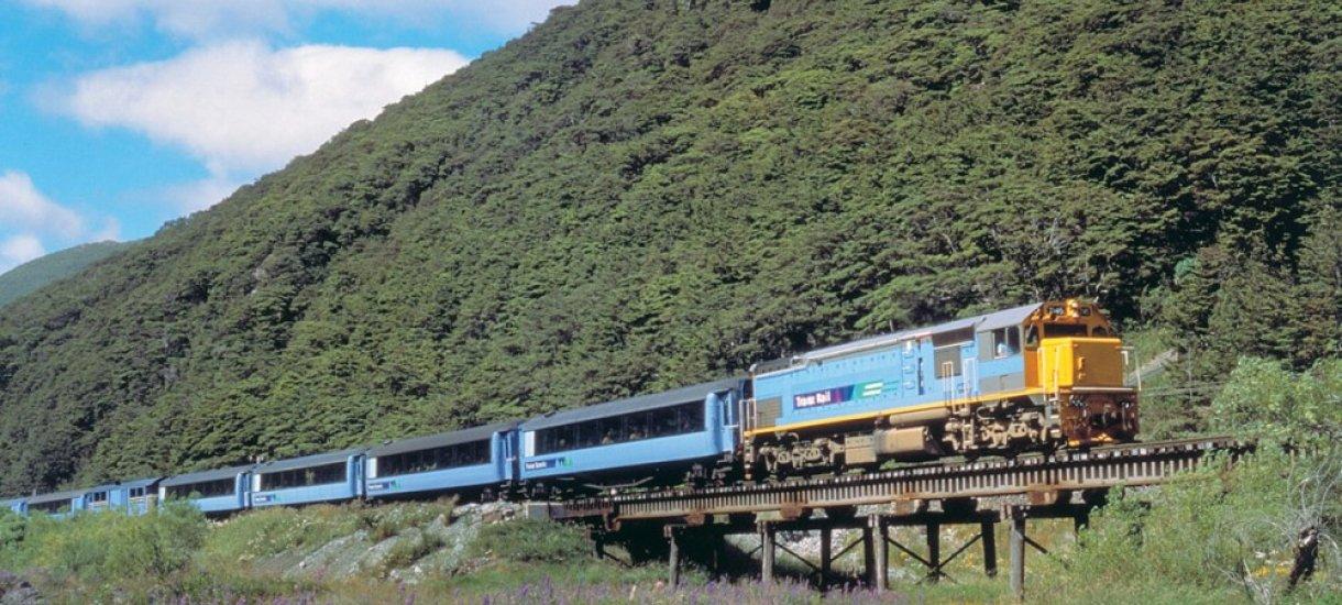 Tranzalpine train, Uusi-Seelanti