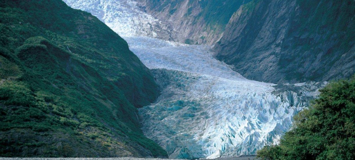 Franz Josefin jäätikkö, Uusi-Seelanti
